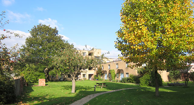 Family accommodation at St Stephens House Oxford