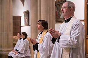 Ordinands at St Stephens House Oxford