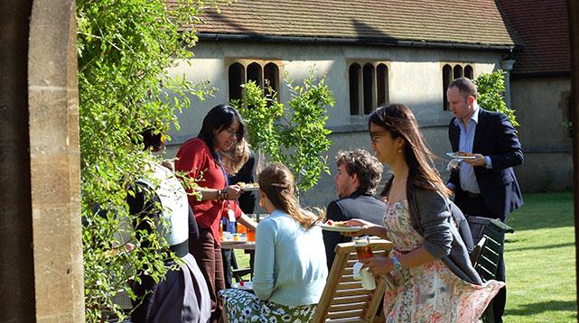 Alumni at St Stephens House Oxford